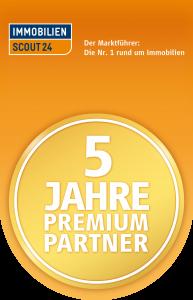 5 Jahre Premium Partner Immobilien Frank Hahnefeld
